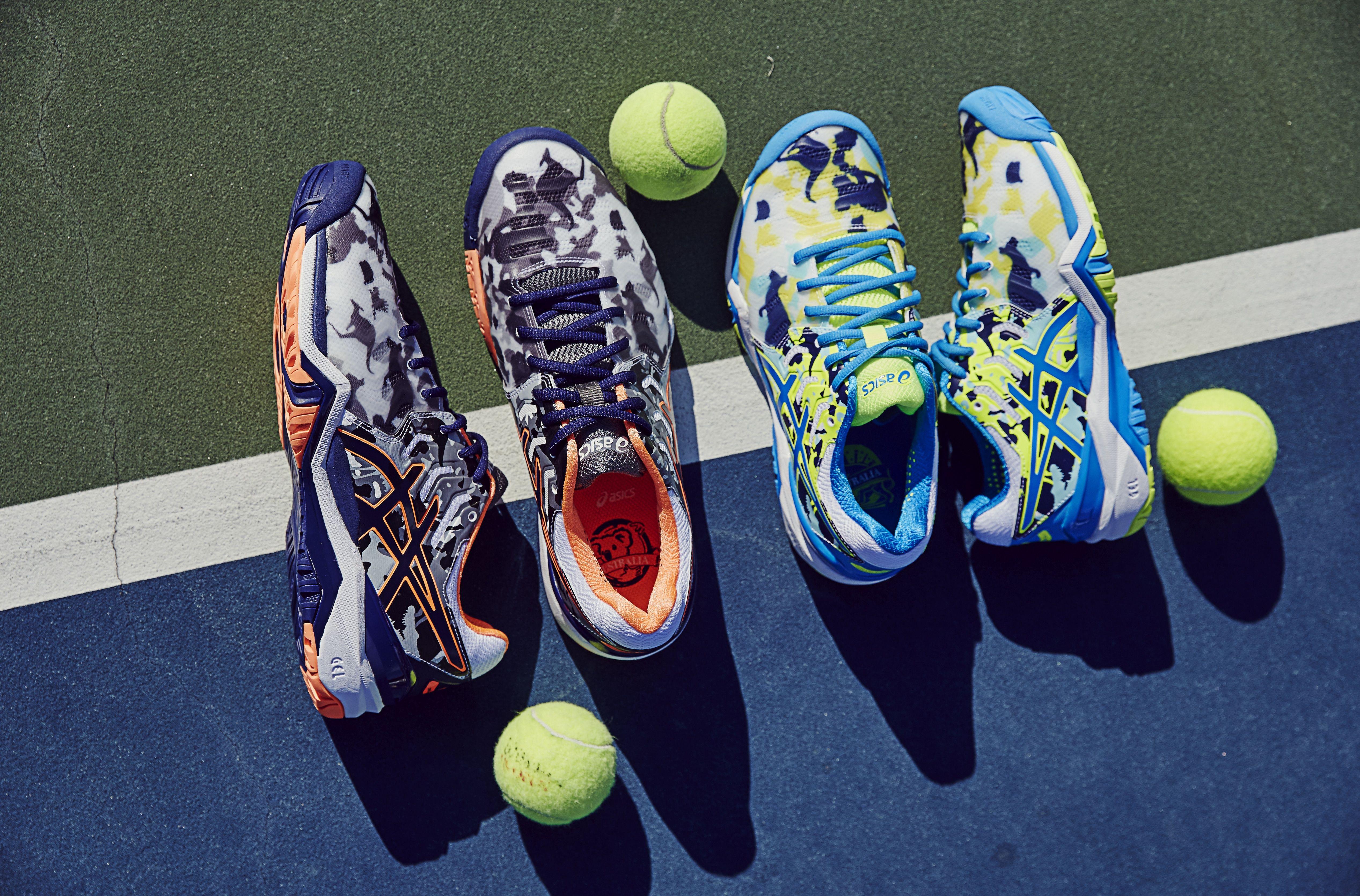 asics clay tennis