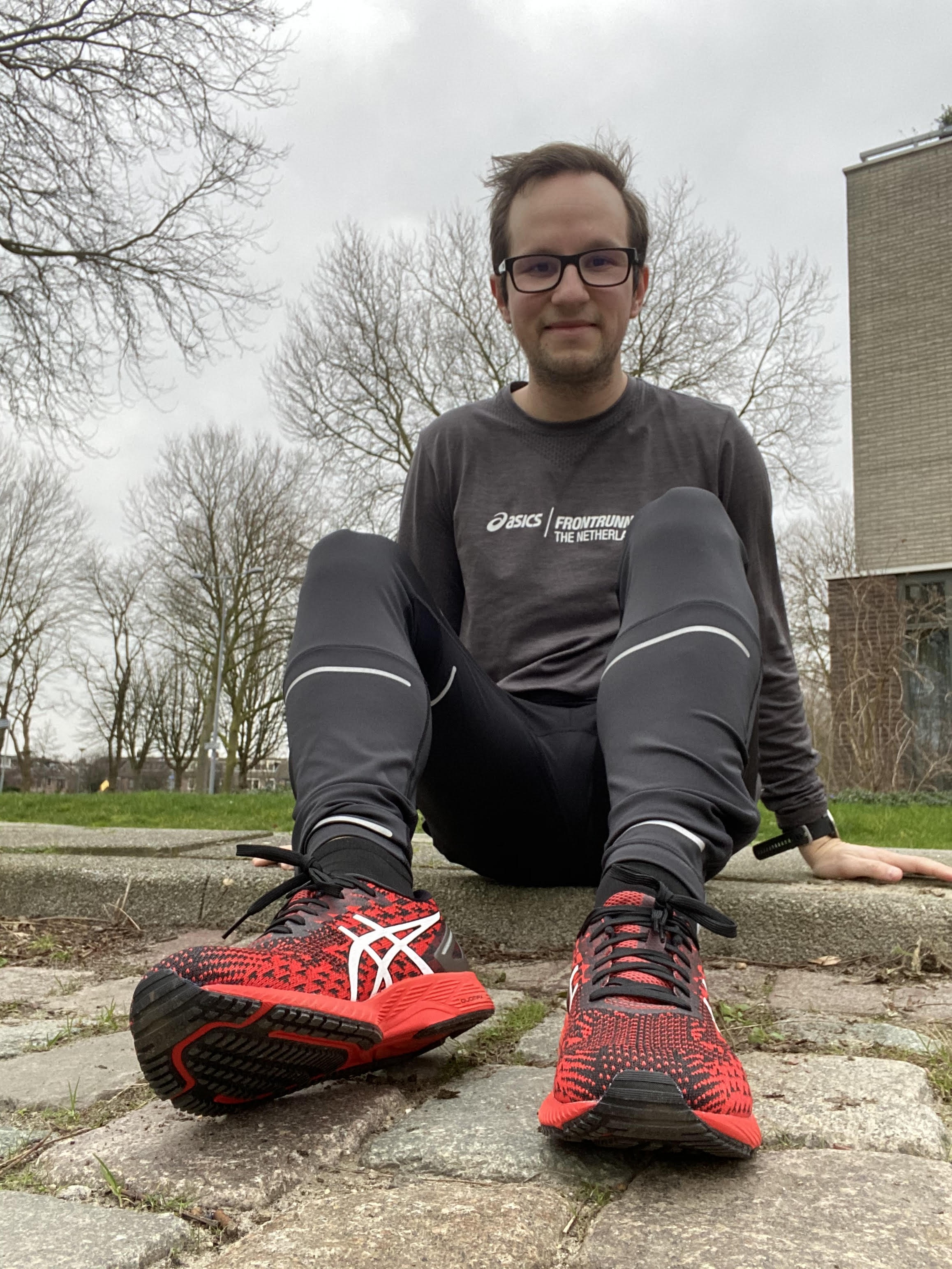 ASICS Frontrunner Harder lopen op de ASICS GEL DS Trainer 25