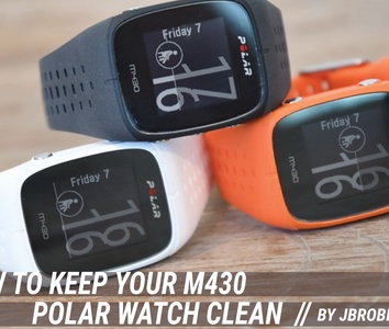 chico Viva Plasticidad  ASICS Frontrunner - How to keep your Running Watch clean.